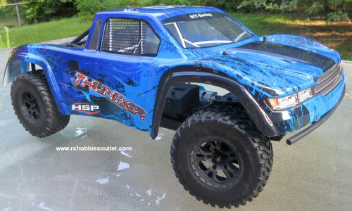 Thunder RC Short Course Truck Electric 1/10 Scale 4WD LIPO 2