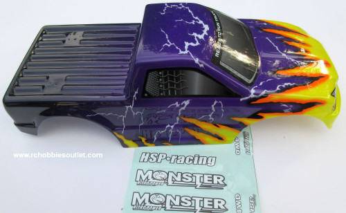 88025 Body Shell for HSP 1/10 Scale Monster Truck