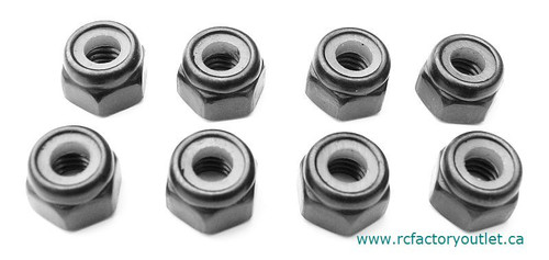 02055 NYLON LOCKNUT M4 HSP ATOMIC TYRANNO HIMOTO ETC