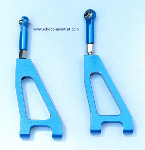 860002N Front Upper Suspension Arm(Al.) 2P Blue 760002