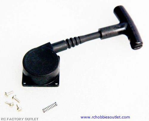 TS4A PULL START ASSEMBLY FOR 1/16 SCALE .07 ENGINE
