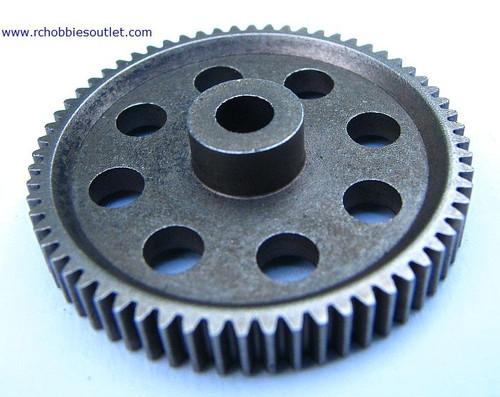 11184 DIFF MAIN GEAR (64T) Steel 1 piece