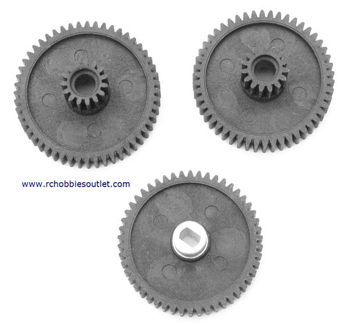 98088  59017 Differential gear set for 1/8 scale HSP, Redcat, Exceed  Rock Crawler