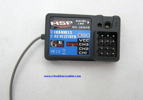 28464B HSP 3 CHANNEL 2.4G RECEIVER