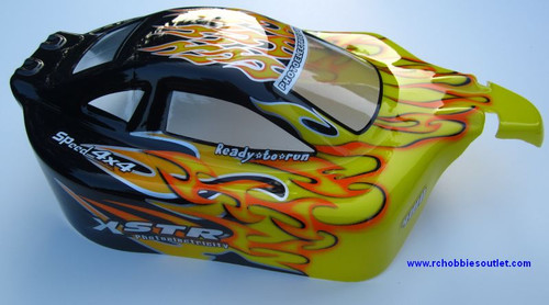 MA3 HSP Buggy 1/10 Scale Body Shell
