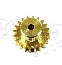 28014 BRASS PINION GEAR 20 TOOTH 2.3MM SPINDLE