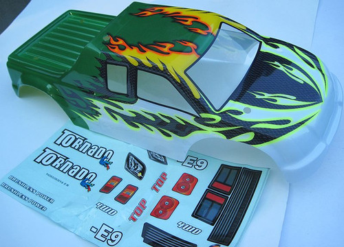 08318 NEW 1/8 RC TRUCK BODY -- SUIT TORNADO TRUCK