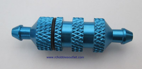 02156 ALLOY FUEL FILTER - Blue
