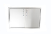 Blaze 32-Inch Sealed Stainless Steel Dry Storage Pantry With Shelf - BLZ-DRY-STG