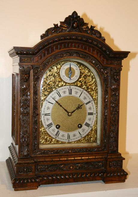 German ting tang mantel clock