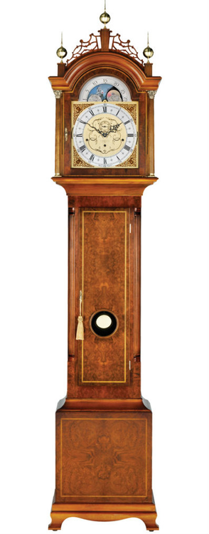 grandfather clock png. c2209tch - comitti of london the chatsworth grandfather clock png