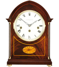 C4105CH - Comitti of London Regency Mahogany Westminster Chime Mantel Clock
