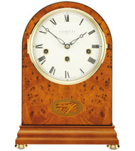 C4402CH - Comitti of London -The Regency Yew Westminster Chime Mantle Clock