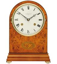 C4402S - Comitti of London - The Regency Yew Bell Strike Mantle Clock