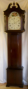 Circa 1790-1830 Scottish Mahogany Longcase Clock - Colin Crole of Perth