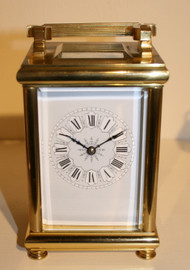 Circa 1900 French Striking Carriage Clock