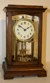 Circa 1900 Gustav Becker 400 Day Clock
