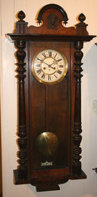 Circa 1900 Gustav Becker Wall Clock