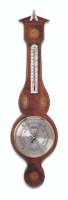 B568.6 - Comitti of London Sheraton Banjo Aneroid Barometer