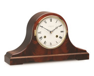 C4119S - Comitti of London Mahogany Bell Strike Mantel Clock