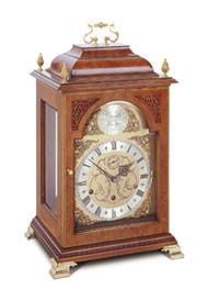 C4112TCH - Comitti of London Queen Anne Walnut Bracket Clock