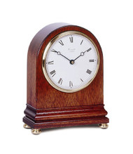 C4302RC- Comitti of London - Mahogany Mantle Clock - Radio Controlled