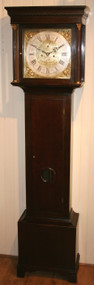 J. Common of Coldstream Mahogany Longcase Clock - Circa 1770