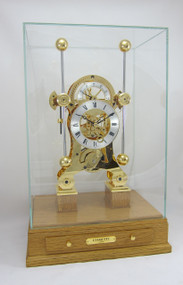 S5816G  - Comitti of London Navigator Clock  - Special Edition Oak Base