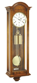C3202CH - Comitti of London - The Canterbury Walnut Westminster Chime Wall Clock