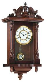 70091-030141 - Hermle Walnut Finish Piccadily Wall Clock