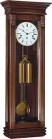 70707-Q10351 - Hermle Staplehurst Antique Walnut Finish Wall Clock