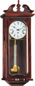 70742-070341 - Hermle Waterloo Mahogany Wall Clock