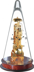 22716-070791 - Hermle Leyton Skeleton Mantel Clock