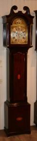 J Cameron of Kilmarnock Longcase Clock - Circa 1880