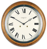 C3842S-CR - Comitti of London 'The Plymouth' Oak Wall Clock