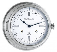 35066-000132 - Hermle Chrome Ships Bell Clock