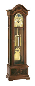 0107-23-01 - Kieninger Walnut Grandfather Clock