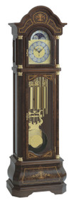 0138-82-03 - Kieninger Walnut  Grandfather Clock
