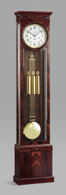0191-56-01 - Kieninger Rosewood Vienna Regulator Front View