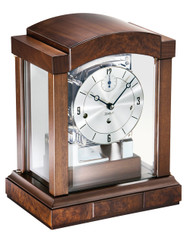1242-22-03 - Kieninger Contemporary Walnut Mantel Clock