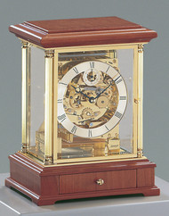 1258-41-01 -  Kieninger Mantel Clock Front View