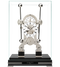 S5666S - Comitti Rhodium Plated Navigator Clock