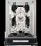 S5616S - Comitti Rhodium Plated Navigator Clock