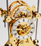 S5216G - Comitti Gold Plated Navigator Clock Dial and Movement