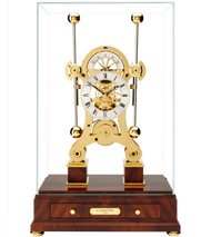 S5016G - Comitti Gold Plated Navigator Clock