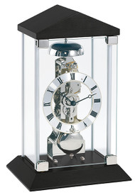 22786-740791 Hermle Contemporary Mantel Clock Black Case