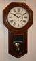 Circa 1900 - Ansonia Drop Dial Wall Clock