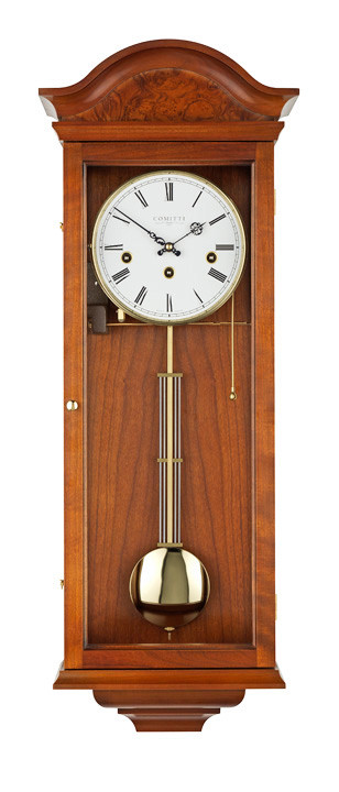 C3260CH - Comitti of London 'The Essex' Westminster Chime Wall Clock - Walnut