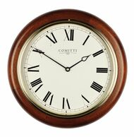 C3042Q - Comitti of London 'The Plymouth' Mahogany Wall Clock - Quartz