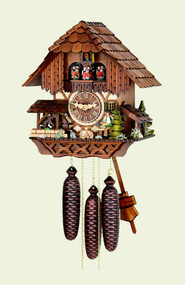 65/42/8 V Ho RM - Hubert Herr Musical Cuckoo Clock
